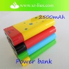 Portable USB mobile power bank, for mobile phone camera etc