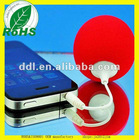 2012 new brand portable for iphone5 speaker(dd-lH-001)