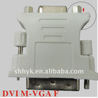 DVI male to VGA female adapter with good quality and competitive price.