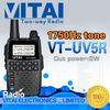 VT-UV5R Mini Walkie Talkie Ham Radio VHF UHF