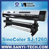 Large Format Printer DX7 Sinocolor SJ1260 1440dpi 2012 Latest