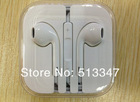 Remote and Mic Volume Control Headset Earphone for iPhone 5 5G Stereo Earphone for iPad Mini