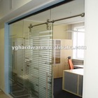Glass Panel Door Office Wall
