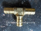 Brass Pex Fitting Tee 20x20x20
