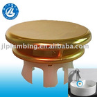 shinny color lavatory overflow hole cover