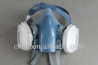 dual cartridge half face mask ,half face respirator