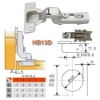 Hydraulic Buffering Concealed Hinge HB13D