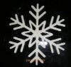 christmas hanging snowflake