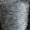 hot dipped galvanized and electrco galvanized barbed wire