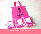 Sleep In Rollers Pack of 8 Pink Rollers Plus Drawstring Roller Bag