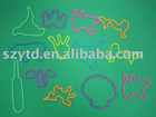 silicone shape rubber bands