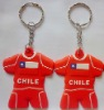 advertising soft pvc keychain