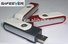 Rotatable USB Ionizer Fresh Air Purifier PC LP