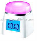 Multi-color LCD CLOCK
