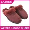 The most popular color and style slipper double face sheepskin slipper