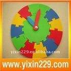 EVA clock puzzle