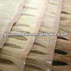 hand tied human hair skin weft