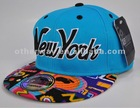 new york flat brim fitted hat
