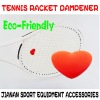 Racket Heart Dampener Accepts Customized Logo/designs