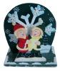 Snowman Christmas Musical Music Box