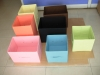 Home Colorful Foldable Plastic Storage Box