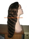 100% indian remi hair full lace wigs