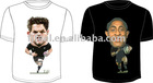 Heat transfer printing man's T shirt