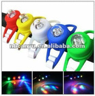 led safety flash bike light for wheel wire