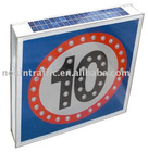 NOKIN Newly Designed Widely Used LED Solar Speed Limited Sign