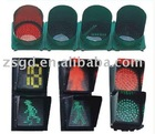 Radar Safety Cross System Solar Pedestrian Traffic light CE