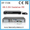 4ch H.264 Easy to use network standalone dvr