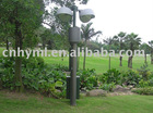 Vertical mounted telescopic lighting mast/telescoping light mast/pneumatic mast pole