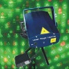 Four in One Voice-Activated Mini Laser DJ Party Stage Lighting Light(Aeolian Bell+Christmas Tree+Snow Flake+Santa Claus)