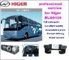 Kinglong,Yutong,Higer bus parts