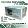 low cost integrated time and temperature controller CT401BFK01-MM*H