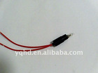 Pilot lamp for capillary thermostats
