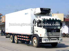 JAC 6*4 freezer box truck