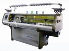 Flat Computerized Knitting Machine for collar bottom