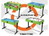 2 in 1 Soccer & Hockey Table Game