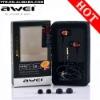 Awei ES-Q5 Noise Cancelling earbud headphone in ear earphone fashion style earphones