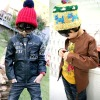 2012 korean style new arrival fur coats,children winter coat,children cloth,kid clothes