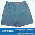 Cheap 95% cotton 5% spandex seamed knitted man's underwear