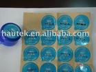 PVC cap Adhesive Sticker