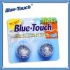 2pcs Durable Automatic Toilet Bowl Cleaner/ Blue Bubble