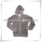 Zipper hoodie/zipper hooded jacket/crewneck sweatshirt