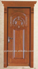fashion style,main door design solid wood with ISO
