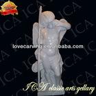 Marble stone angel figure sculpture