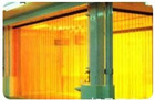 PVC strip door door shutter