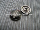 Zinc alloy garment rivets