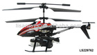 3.5ch remote control helicopter with gyro & blowing bubbles